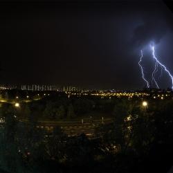 Гроза, молния